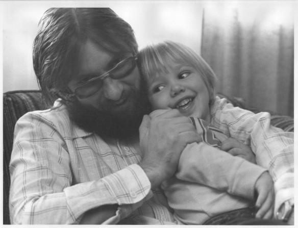 Brandon and Dad 1975 B